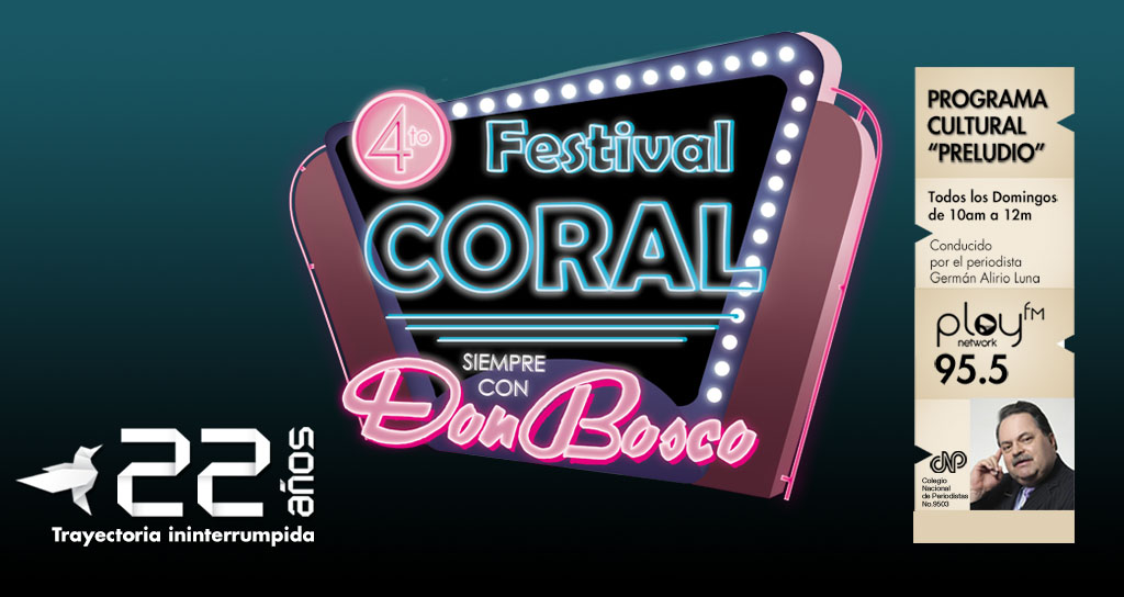 Preludio inicia el 2015 con el 4to Festival Coral Siempre con Don Bosco