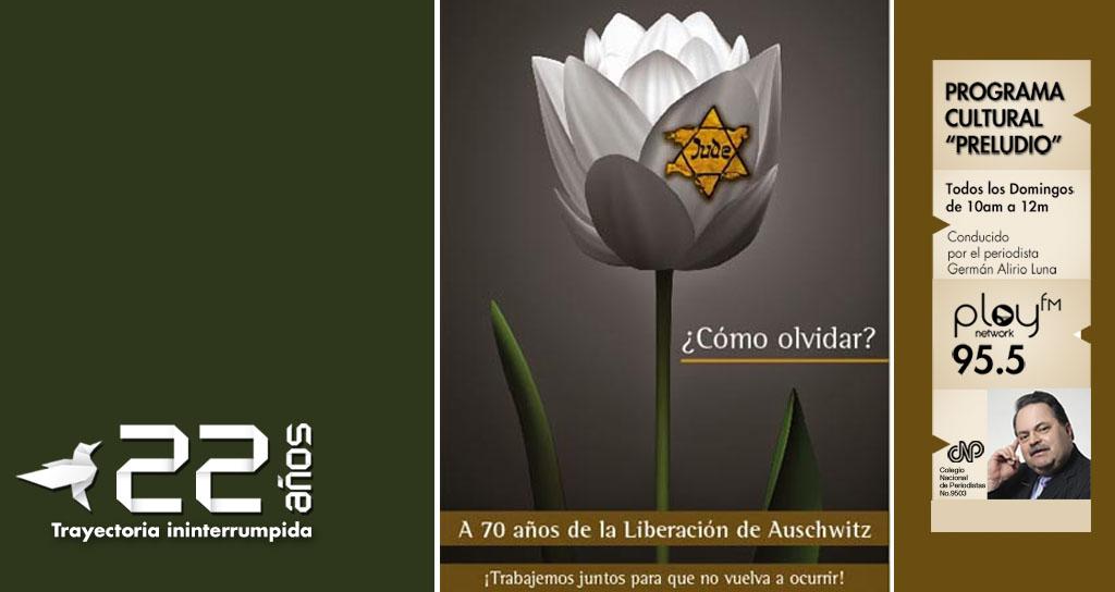 #Preludio se une al homenaje en Memoria de las Víctimas del Holocausto