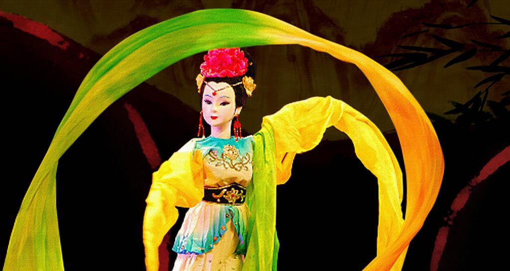 A sala llena estrena el Teatro de Títeres de China en el Teresa Carreño
