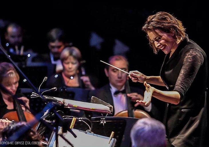 Alondra de la Parra dirigirá a la Sinfónica Nacional de Dublín