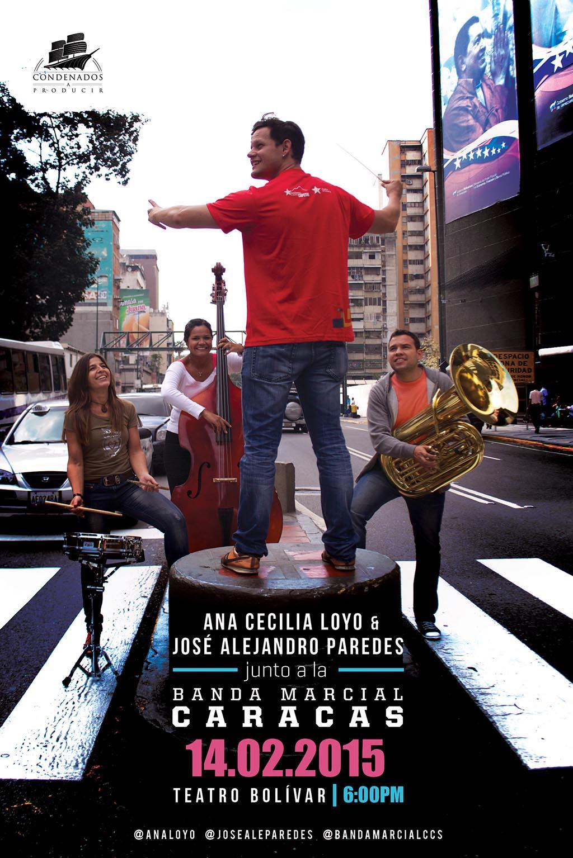 Ana Jose y la Banda Marcial