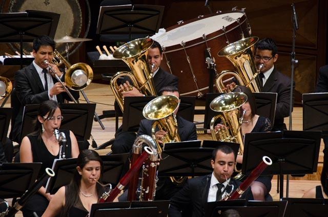 La Banda Sinfónica Juvenil Simón Bolívar celebra los 40 años de El Sistema