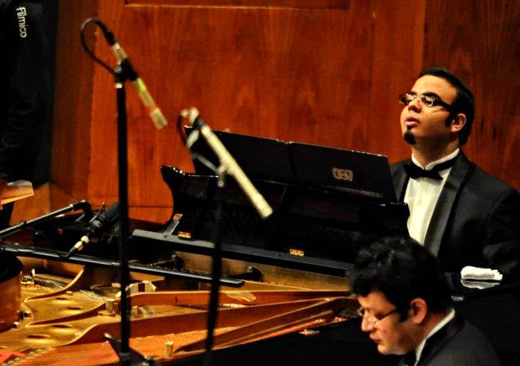El pianista Carlos Gutiérrez se presenta en el marco del Ciclo Humboldtfest