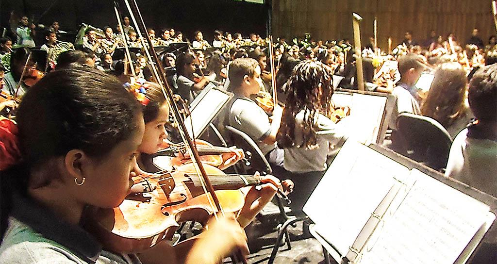 Sistema de Orquestas Falcón se une a la fiesta del millón de Conciertos
