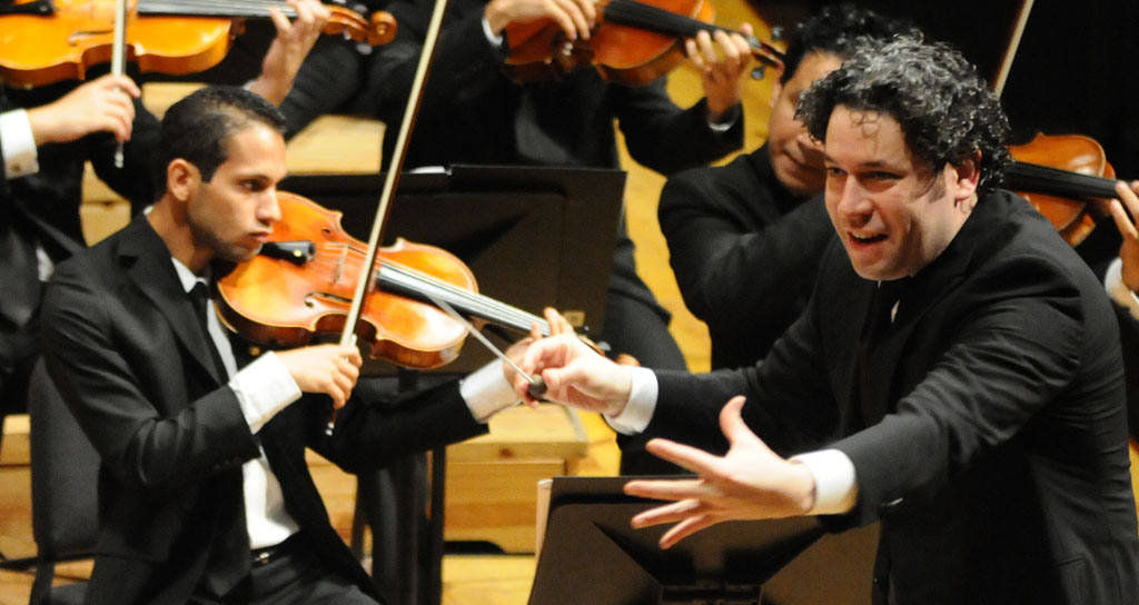 """Gustavo Dudamel dirige en Caracas """"La creación"""" de Haydn"""