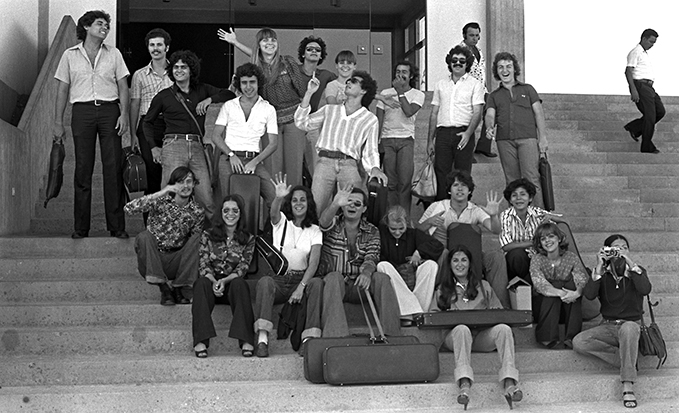 Grupo en Puerto Ordaz