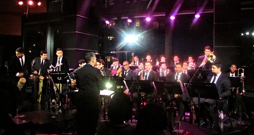 Triunfo histórico de la Simón Bolívar Big Band Jazz en EEUU