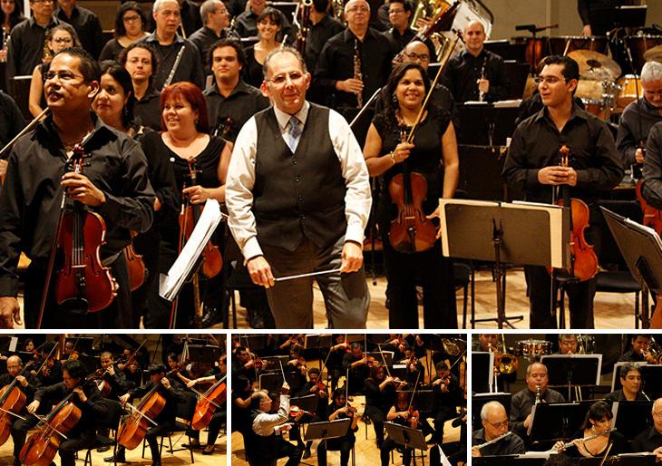 """Con """"El cine y su música"""" fueron celebrados los 35 años de la OSMC"""