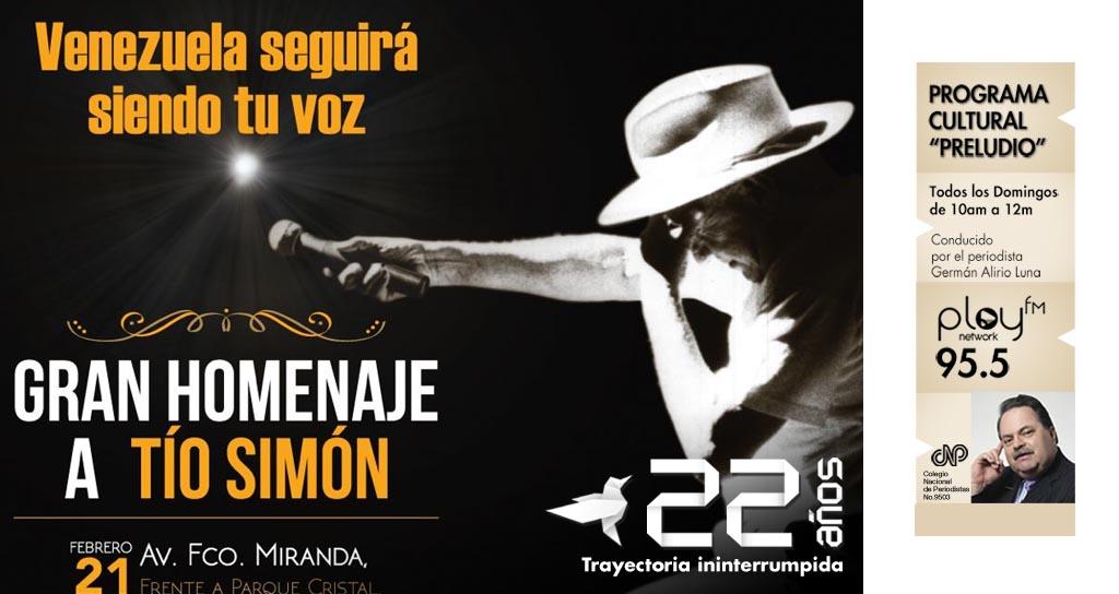 """""""Preludio"""" rinde homenaje al Tío Simón"""