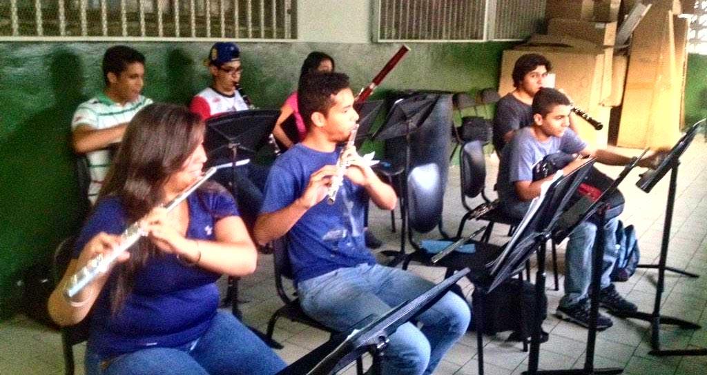 5.000 niños cojedeños participan en 40 aniversario del Sistema Nacional de Orquestas