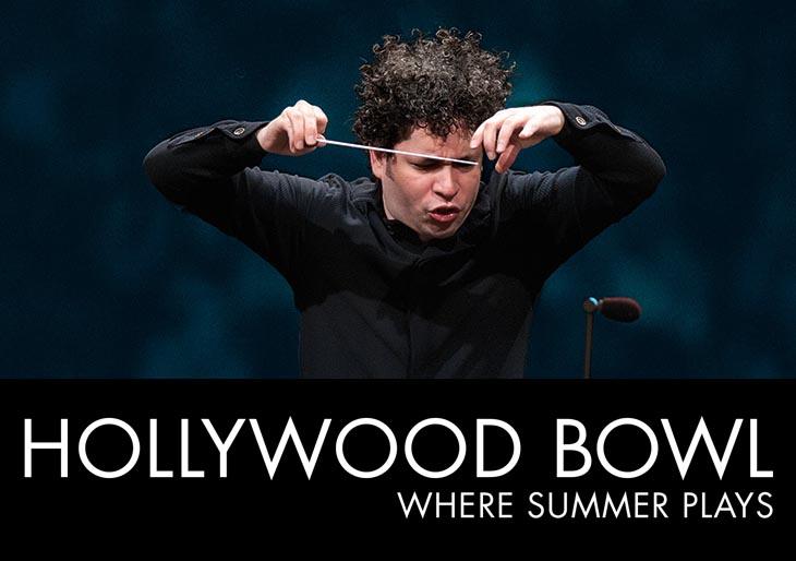 Gustavo Dudamel será la gran estrella del Hollywood Bowl 2015
