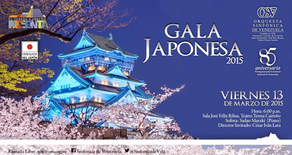 Orquesta Sinfónica de Venezuela de Gala Japonesa