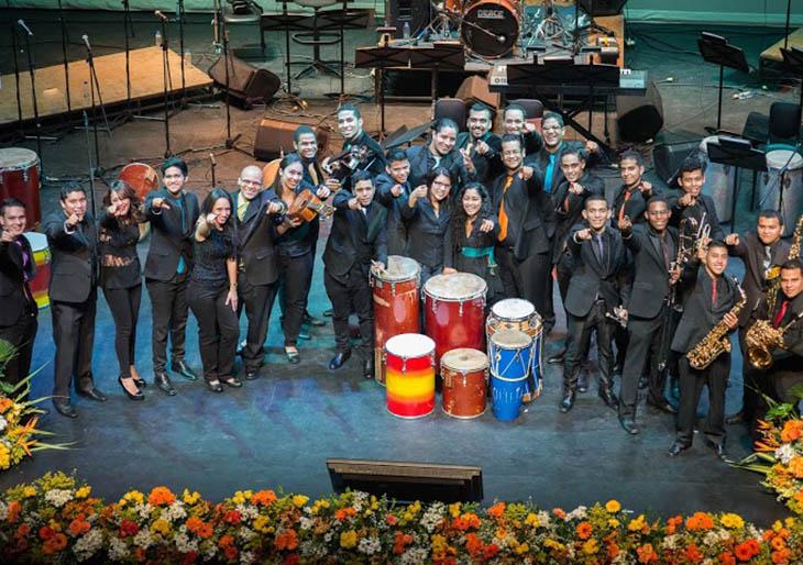 Orquesta Afrovenezolana Simón Bolívar se presenta en el Teatro Teresa Carreño
