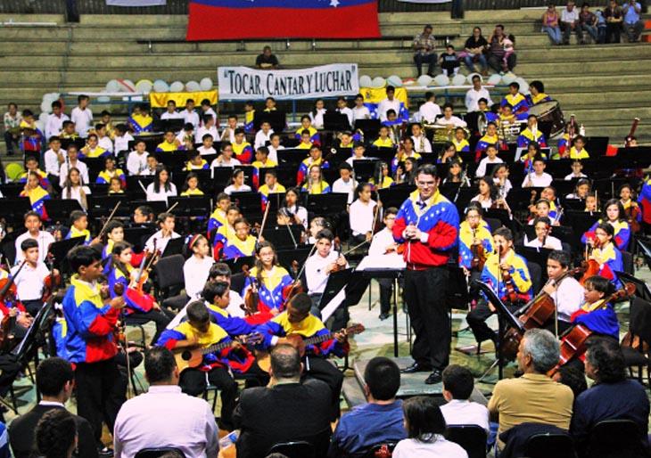 Sinfónica Infantil de Venezuela 2015 comenzó con buenas notas su primera fase de preparación