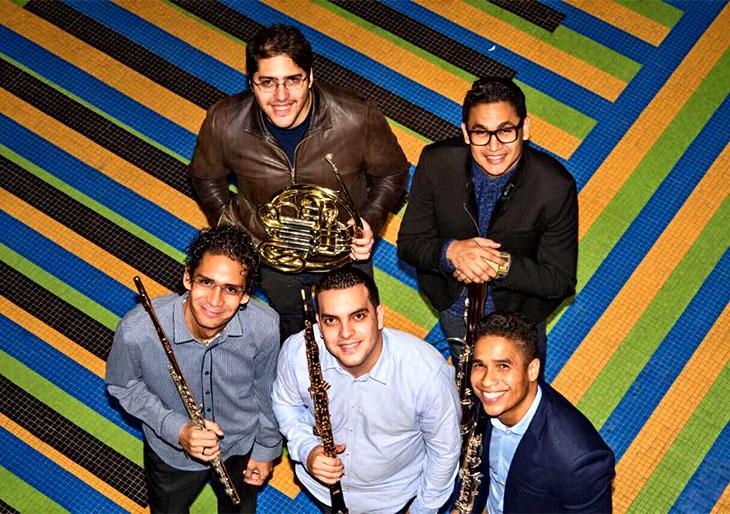 El Quinteto Arcadia celebra #ElSistemaCumple40