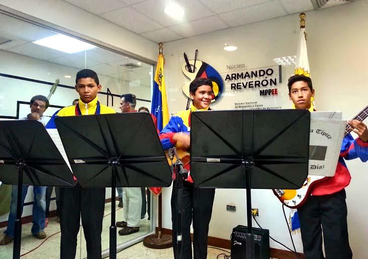 Guanape se llena de música y acción social con el Núcleo Armando Reverón