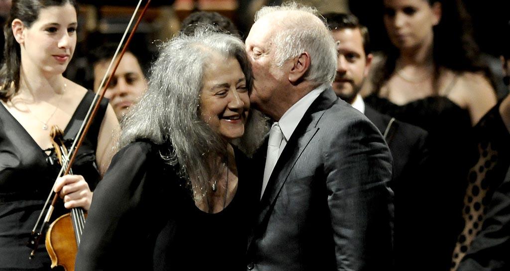 Barenboim y Argerich, otra vez a dos pianos en Berlín