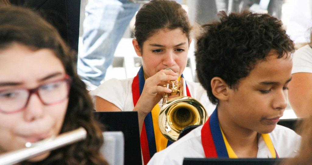 Chacao celebró 40° Aniversario de El Sistema Nacional de Orquestas