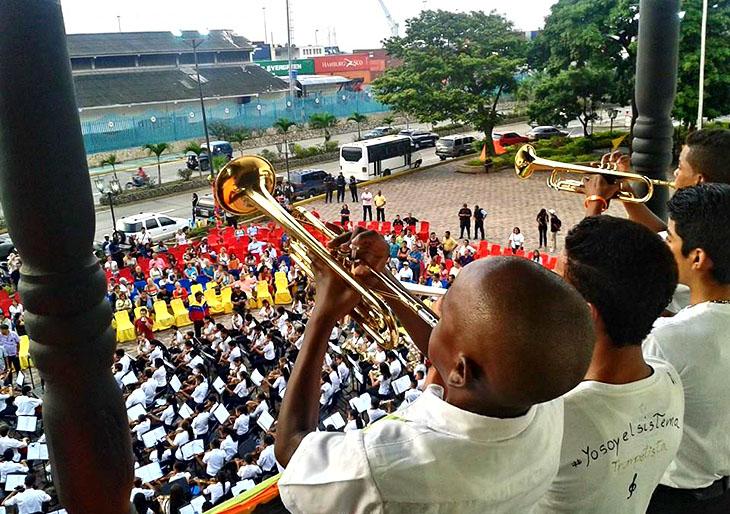 La música salió a la calle con El Sistema: más de 600.000 conciertos sólo en febrero