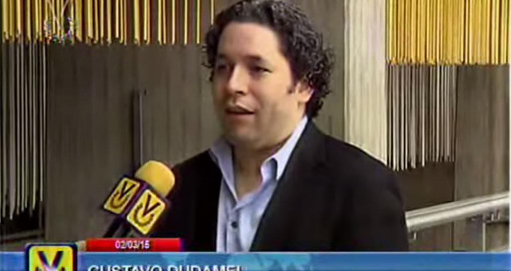 Gustavo Dudamel expresó su orgullo por el Sistema a 40 años de su creación