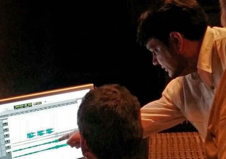 Giancarlo Castro crea banda sonora para el film Redención