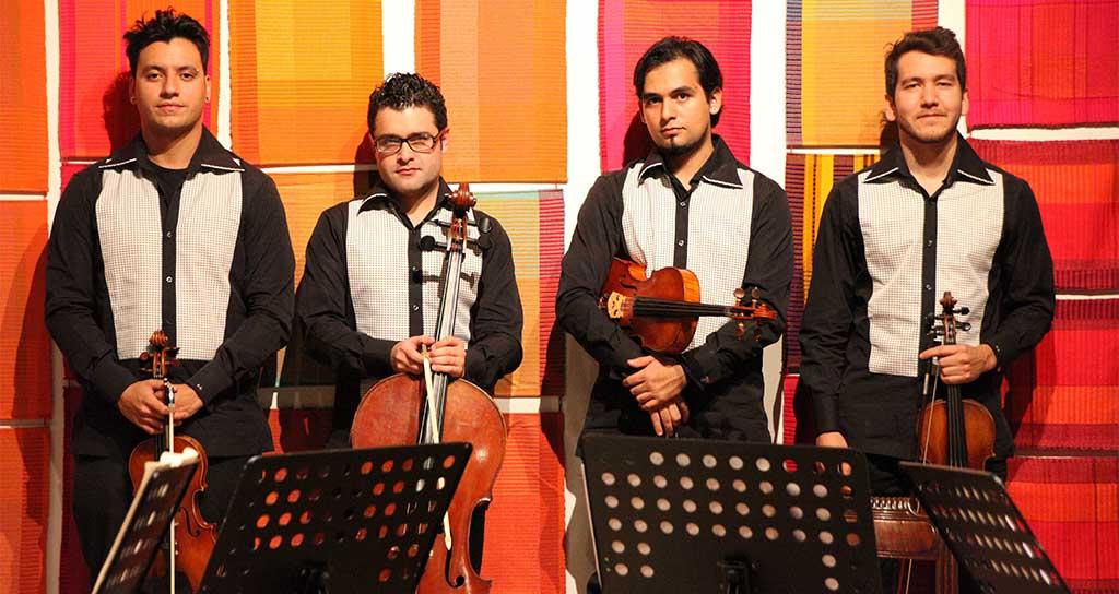 Excepcional concierto del Cuarteto Libertadores en el Bolívar Hall