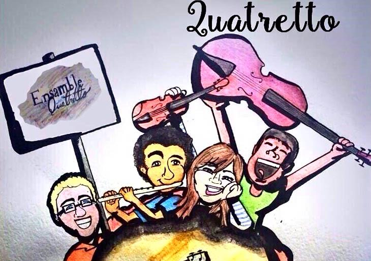 El Ensamble Quatretto presentará su primer disco
