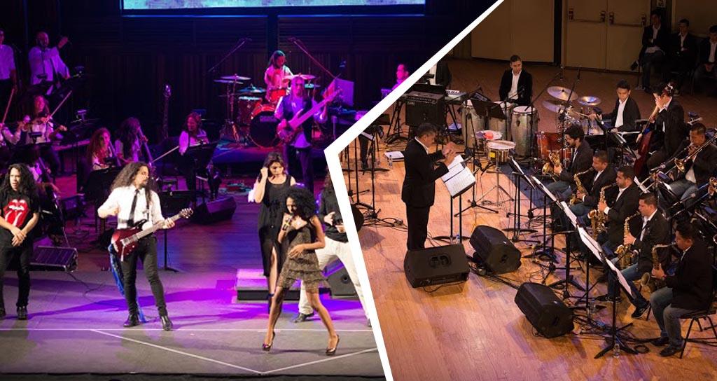 """Orquesta de Rock Sinfónico y Simón Bolívar Big Band Jazz realizan ciclo de """"Conciertos Clásicos"""""""