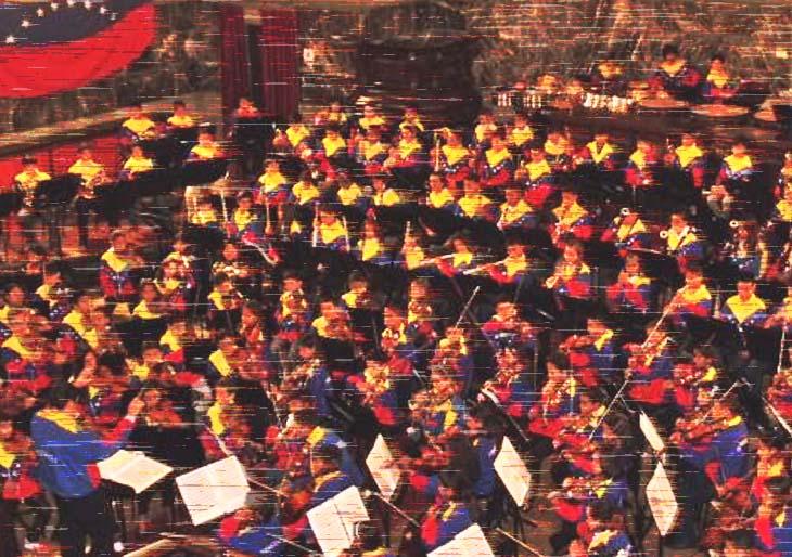 Semillero musical merideño compartió atril con Sinfónica Infantil de Venezuela