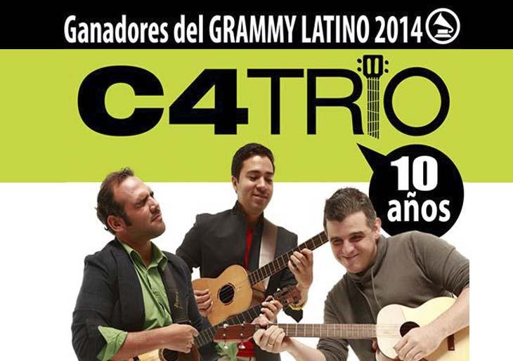 C4 Trío celebra sus 10 años con un concierto especial