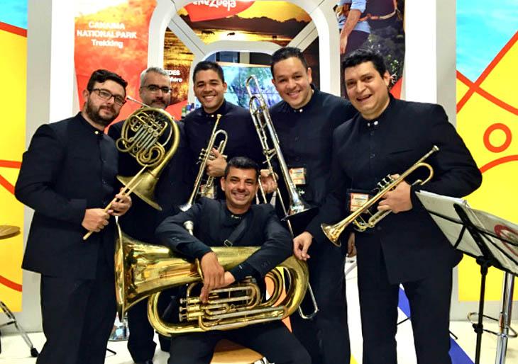 Venezuela Brass se lució en Alemania