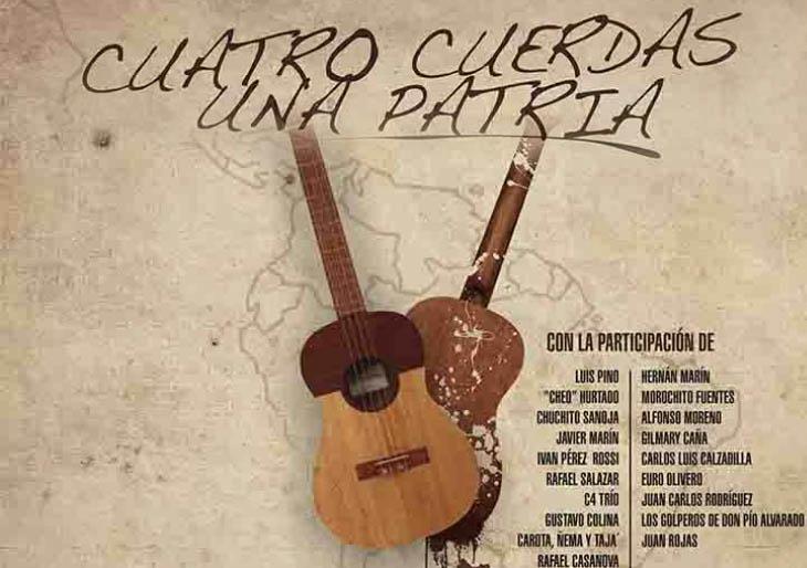 """""""Cuatro cuerdas una patria"""" reúne a los duros del instrumento nacional"""