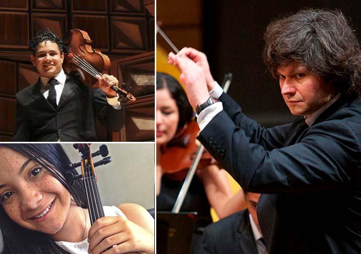 Ismel Campos y María Victoria Chirinos se presentan con la Sinfónica de Falcón