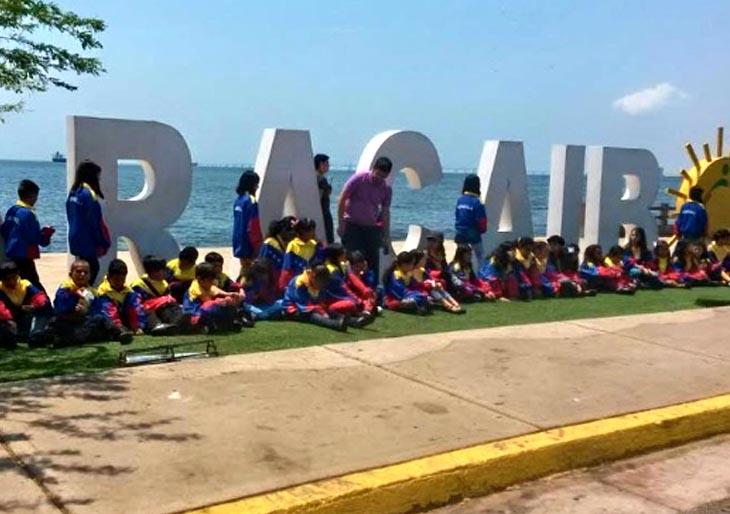 Sinfónica Nacional Infantil visitó este sábado lugares emblemáticos del Zulia