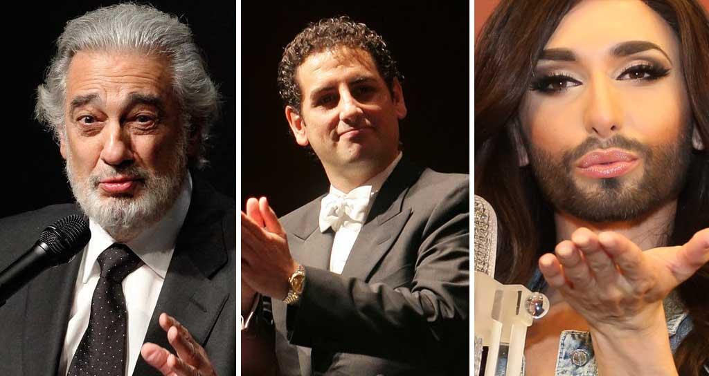 Plácido Domingo y Conchita Wurst cantarán juntos en la Ópera de Viena
