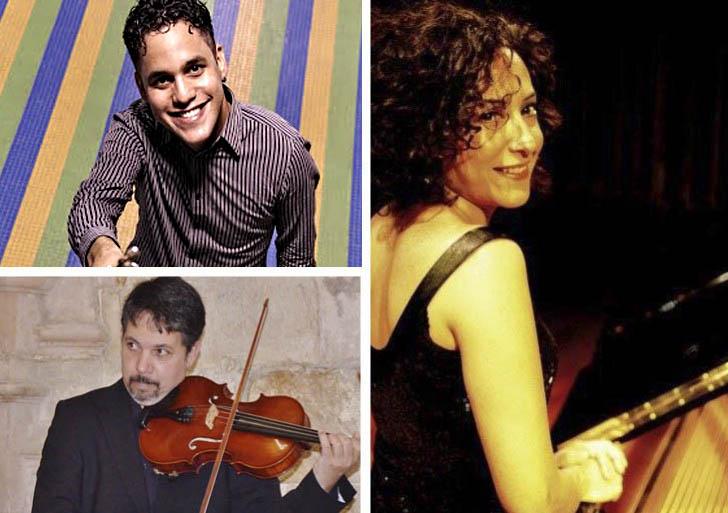 """Jesús Alcívar, Luz Mabel Medina, y Ronald Virgüez ofrecerán un """"Recital Romántico"""""""