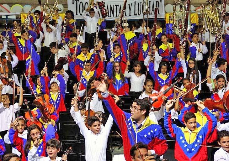 La amabilidad tachirense acogió el talento de la Sinfónica Nacional Infantil