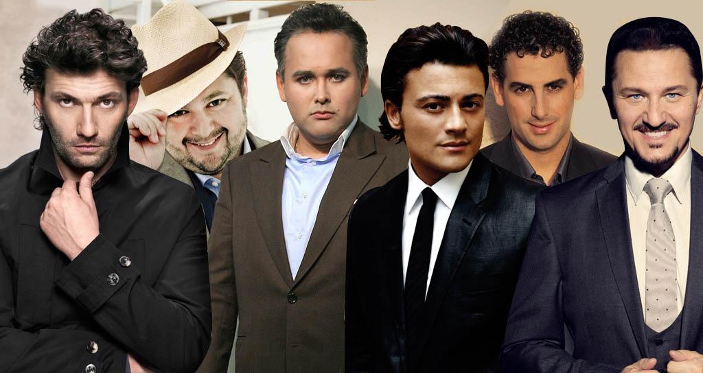 Los mejores tenores del mundo de la actualidad
