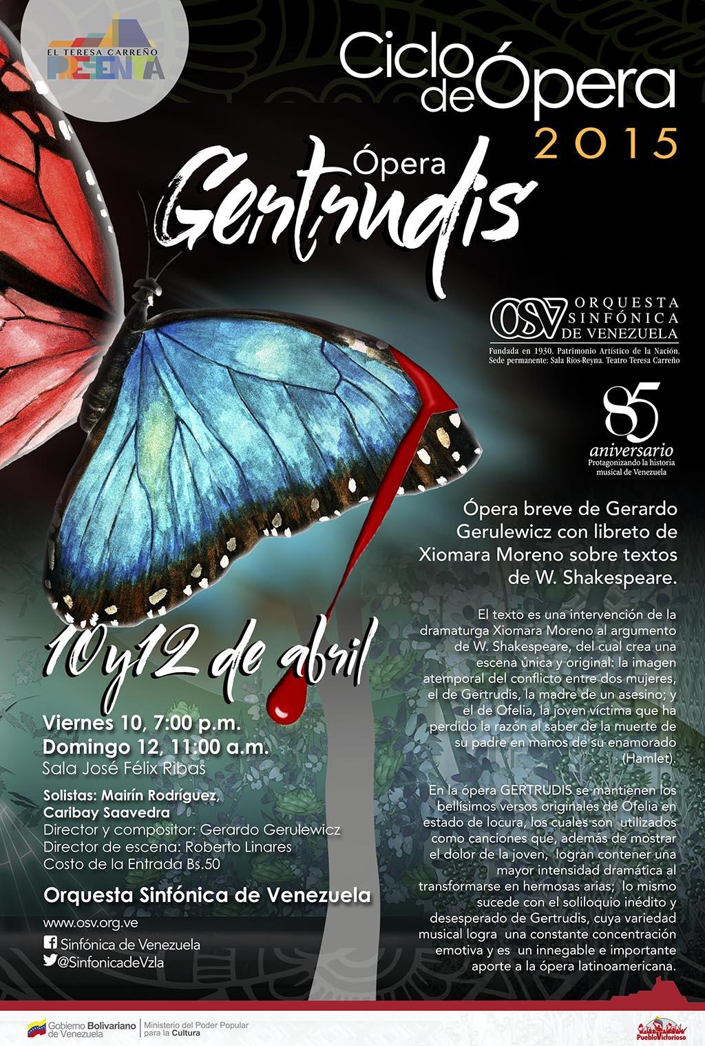 Afiche Gertrudis