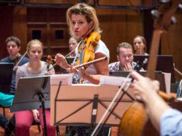 Anne-Sophie Mutter y los Trondheim Soloists