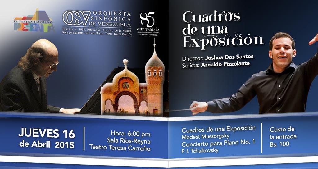 Joshua Dos Santos conduce a la Sinfónica de Venezuela, en la Sala Ríos Reyna