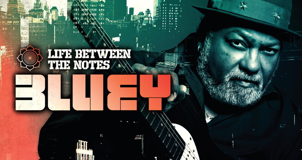 Life Between The Notes es el segundo disco de Bluey Maunick