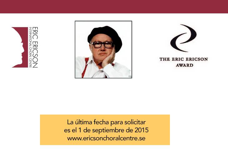 Inscripciones abiertas | Nominaciones al Premio Eric Ericson 2016