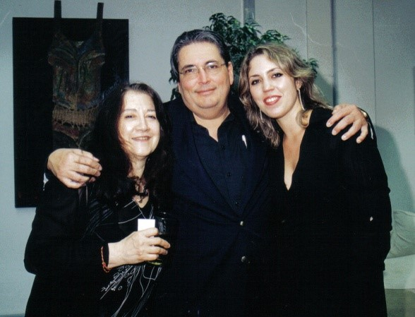 Izcaray con Martha Argerich y Gabriela Montero, 2004
