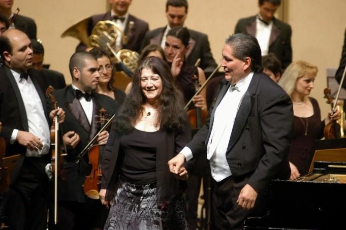Martha Argerich en Salta, Septiembre de 2003