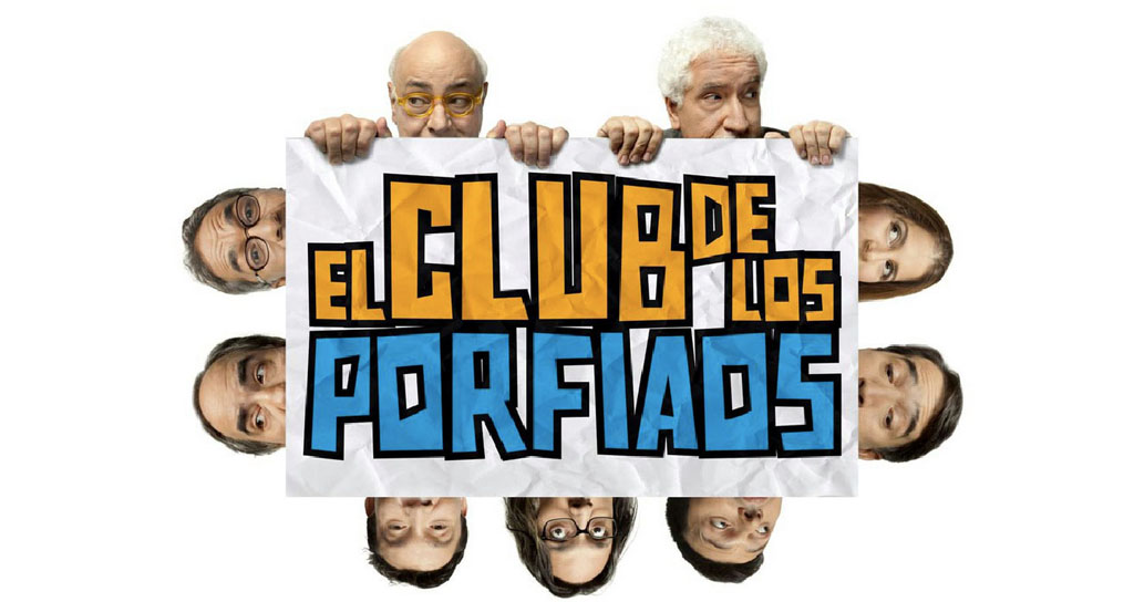 El Club de Los Porfiaos, para optimistas sin remedio