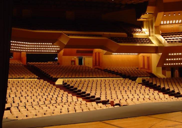 """Sala """"Ríos-Reyna"""" del Teatro Teresa Carreño – Sede Permanente de la Orquesta Sinfónica de Venezuela"""