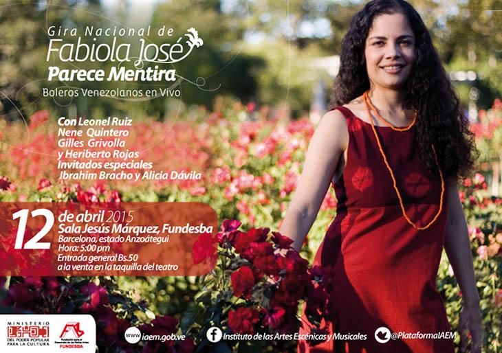 Boleros venezolanos con perfume femenino recorrerán Venezuela