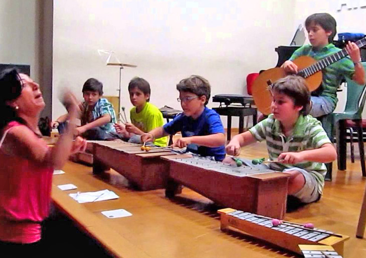 Metodo Orff de enseñanza musical