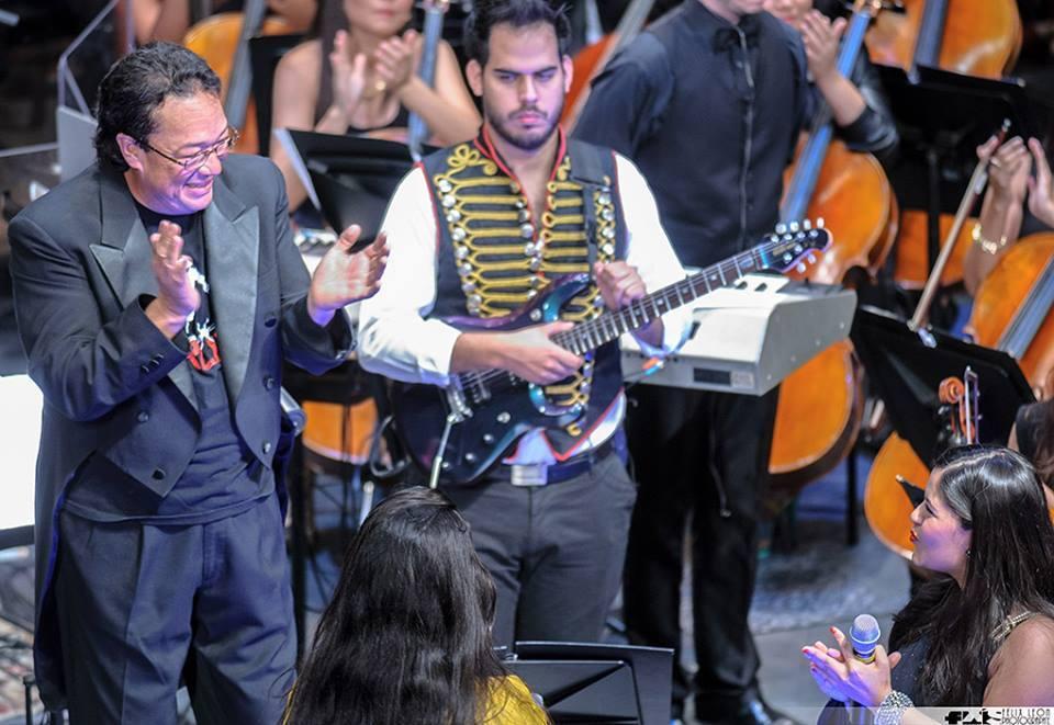 tributo a Queen Sinfónico que elaboramos acompañando a la Orquesta Sinfónica Juvenil de Chacao bajo la dirección de Florentino Mendoza | Agradecimiento especial por las fotos a: Felix León y Richard Borges @lordcomepiña